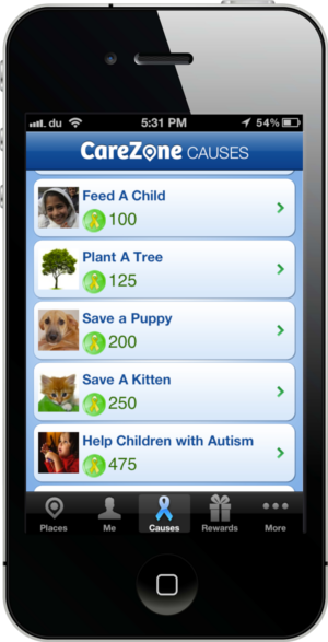 Carezone Screenshot-3