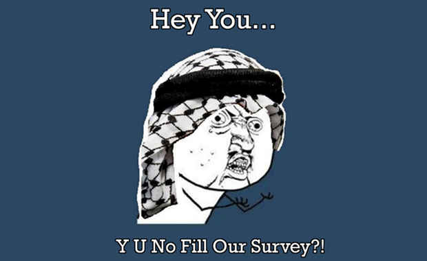 arabic y u no guy interactive ME survey