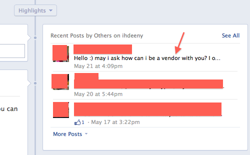 ihdeeny fb page screenshot
