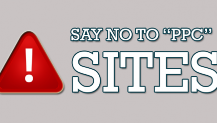 say no to ppc sites