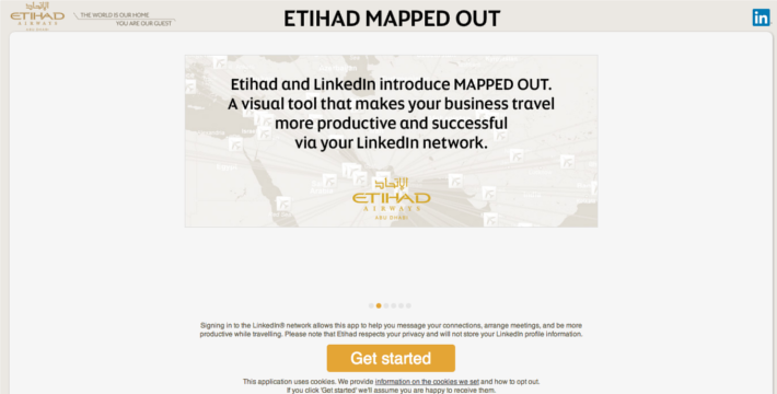 etihad airways linkedin connections